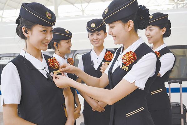 甘肃北方技工学校幼师专业和高铁专业哪个更适合女生?图片